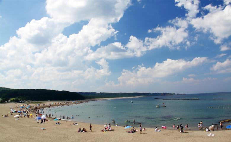 取り込んだ海辺の画像