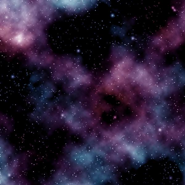 明るい星を描いた画像