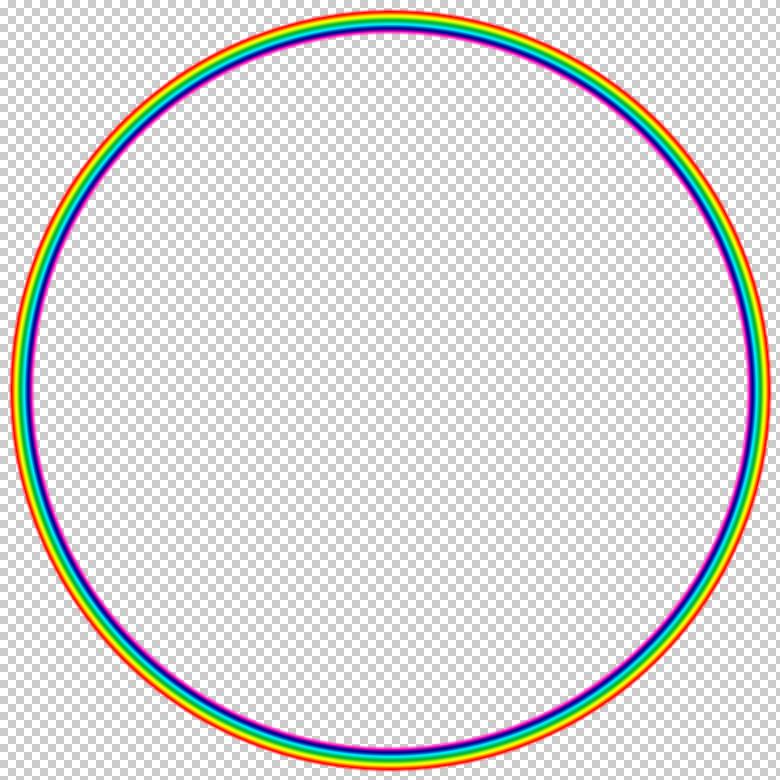 極座標フィルター適用画像