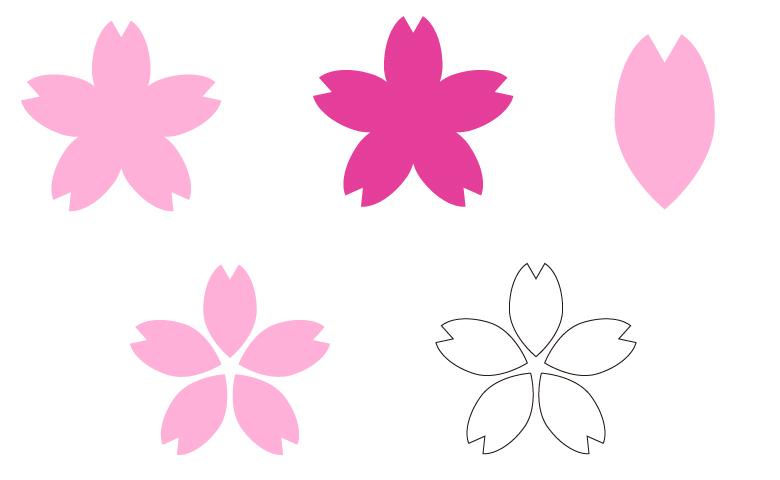桜の花数種類