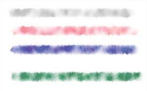 水彩画風ブラシ